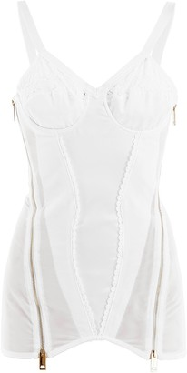 Burberry Lace Corset Top