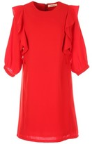 Rene Derhy Dress with Ruffled Sleeves