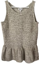 Bel Air Ecru Cotton Top for Women