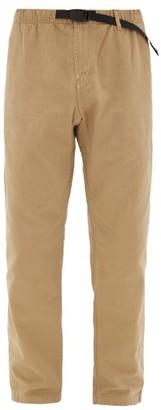 Gramicci Drawstring-waist Cotton Trousers - Mens - Beige