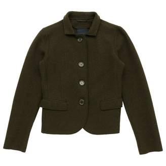 Aspesi Khaki Wool Jackets