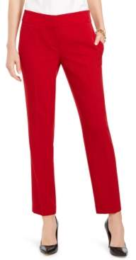 Kasper Slim Straight-Leg Trousers
