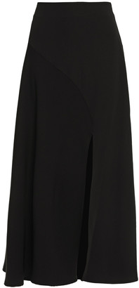 Beaufille Cutout Flared Cady Midi Skirt
