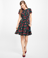 Brooks Brothers Rose Silk Dress