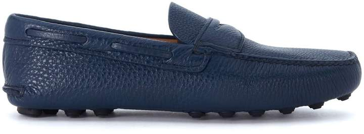 Church's Luigi Blue Leather Loafer