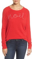 Sundry Women's Noel Pullover