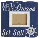 Pier 1 Imports Let Your Dreams Set Sail 5x7 Photo Frame