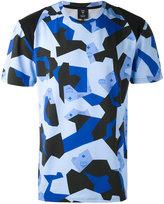 Christopher Raeburn MCM x printed T-shirt - unisex - Cotton/Spandex/Elastane/Lyocell - S