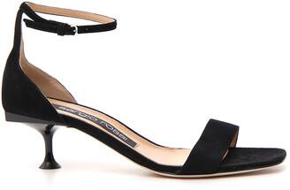 Sergio Rossi Milano Ankle Strap Sandals