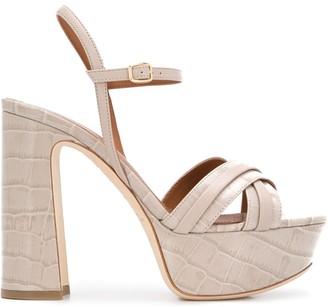 Malone Souliers Mila 125mm platform sandals
