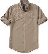 Beretta V-2 Tech Long-Sleeve Solid Woven Shirt
