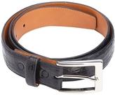 Royce Leather Men's Genuine Crocodile Leather Belt