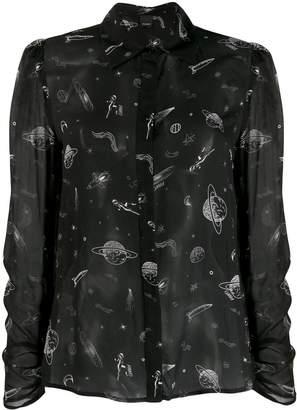 Pinko space print shirt