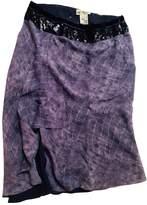 Blumarine Purple Skirt for Women