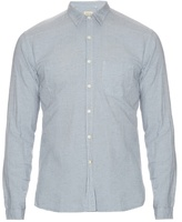 Oliver Spencer New York Special Cotton And Linen-blend Shirt