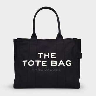 Marc Jacobs Traveler Tote In Black Cotton