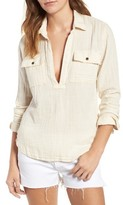 Mother Women's Frenchie Popover Top