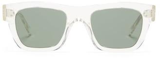 Celine Square Acetate Sunglasses - Clear