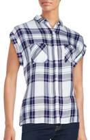 Rails Check Printed Shirt