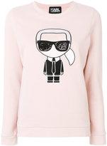 Karl Lagerfeld iconic print sweatshirt