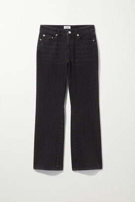 Weekday Sway Mid Bootcut Jeans - Black