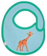 """Lassig Water Repellent Bibs for Infants, Wildlife Giraffe, 9"""" by"""