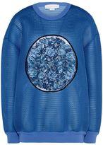 Stella McCartney mesh crew neck sweatshirt