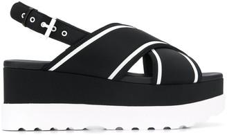 MICHAEL Michael Kors Becker flatform sandals