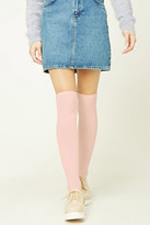 Forever 21 FOREVER 21+ Ribbed Knit Knee High Socks