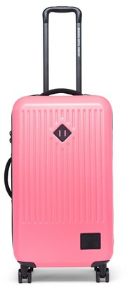 Herschel Trade Medium Hard Shell Luggage Neon Pink