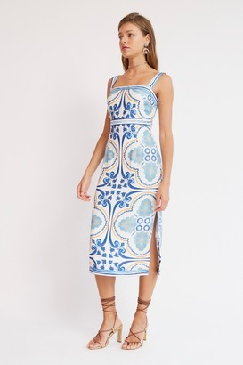 Finders Keepers YOLANDA DRESS Ivory Tile
