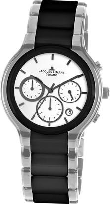Jacques Lemans Dublin 1-1580B Men's Ceramic Bracelet Watch