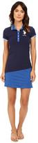 U.S. Polo Assn. Diagonal Color Block Jersey Polo Dress