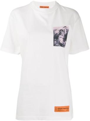 Heron Preston heron graphic T-shirt