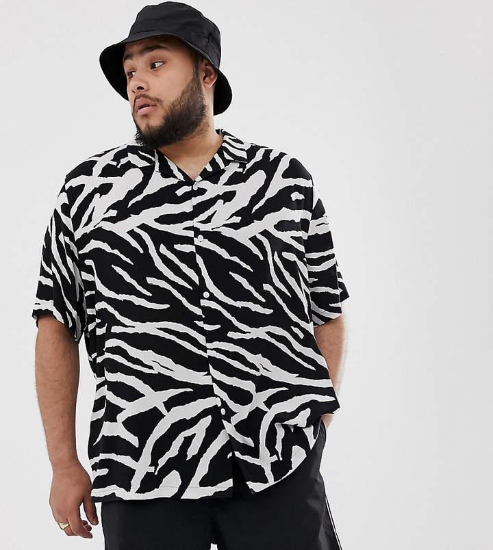 f3e68232c56f9 Mens Zebra Print Shirt - ShopStyle Australia