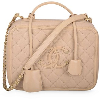 Chanel Pre Owned large Vanity two-way bag