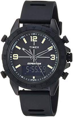Timex Men's TW4B17000 Expedition Pioneer Combo 41mm Silicone Strap Watch