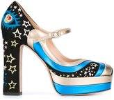 Valentino Garavani 'Astro Couture' Mary Jane pumps