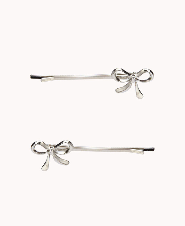 Forever 21 Bow Hair Pin Set