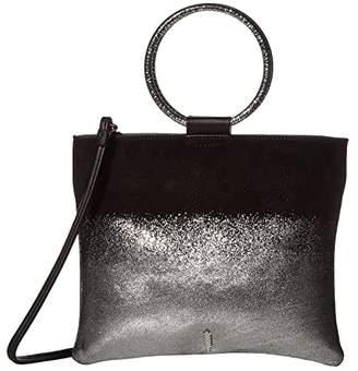 THACKER Le Pouch Hammered Crossbody (Asphalt) Handbags