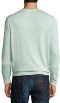 Neiman Marcus CASH SLK V LT BLUE