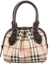Burberry Mini Thornley Haymarket Check Bag