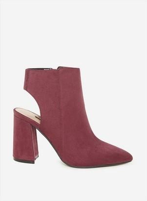 Dorothy Perkins Womens Burgundy 'Arlena' Shoe Boots