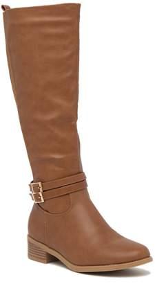 Top Moda Raffia Tall Boot