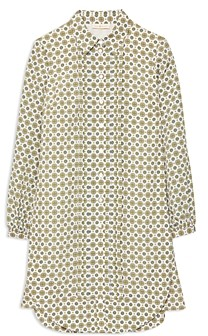 Tory Burch Cora Printed Shirt Dress