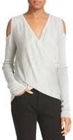 Derek Lam 10 Crosby Women's 10 Crosby Derek Lam Knit Silk Cold Shoulder Sweater