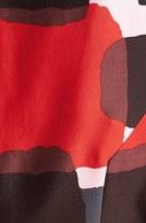 Kate Spade 'marti' Print Cotton Blend Fit & Flare Dress
