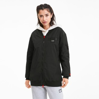 AL x PUMA Womens Long Bomber Jacket