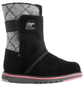 Sorel Fur-Lined Waterproof Leather Youth Rylee Boots