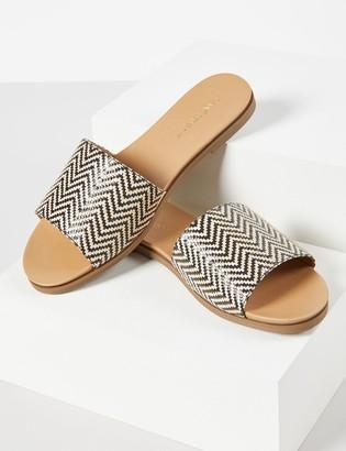 Lane Bryant Woven Slide Sandal